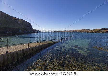 The sea at Tarbet, Scottish Highlands