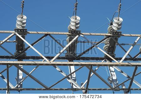 electricity transformer power station high voltage structure