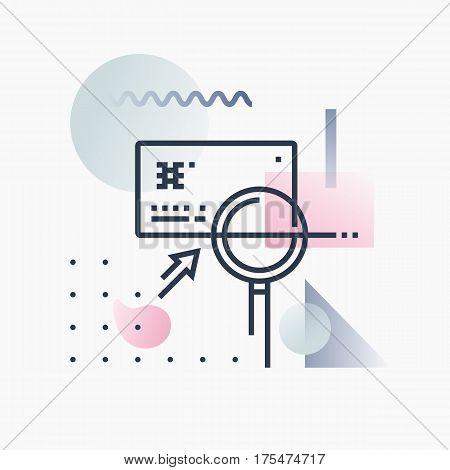 Fraud Detection Futuro Illustration.