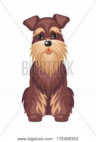 Miniature Schnauzer Dog.eps