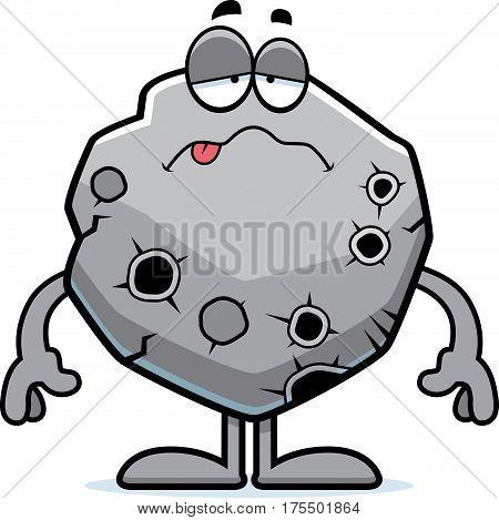 Sick Cartoon Asteroid
