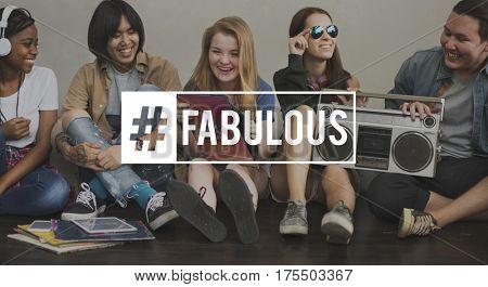 Awesome Young People Fabulous Cool
