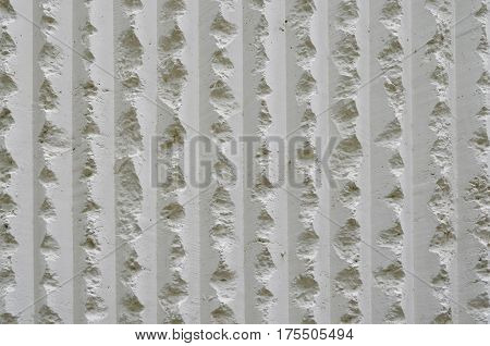 White coarse cement wall texture and background