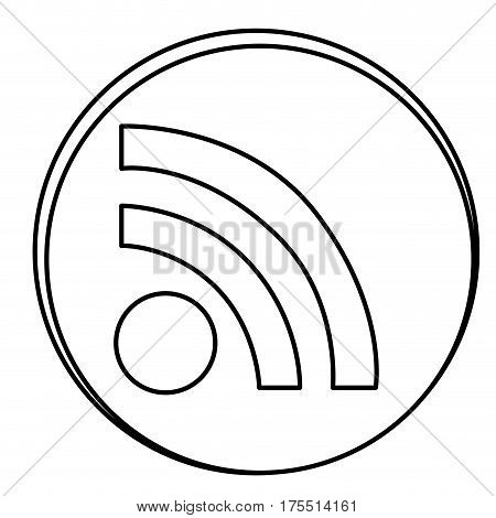 figure wife emblem icon, vector illustraction design image
