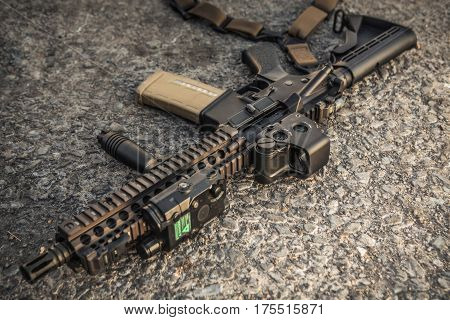 assault rifle ar15 mk18 mod1 marine marsoc