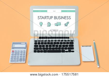 Start Up Business Venture Webpage