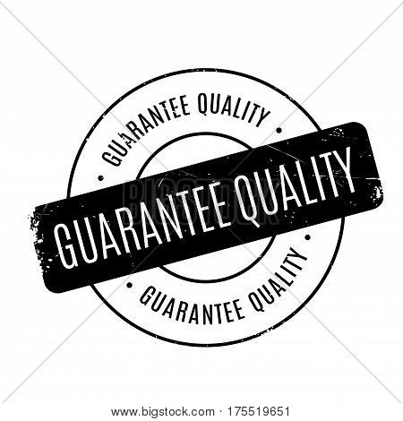 Guarantee Quality rubber stamp. Grunge design with dust scratches. Effects can be easily removed for a clean, crisp look. Color is easily changed.