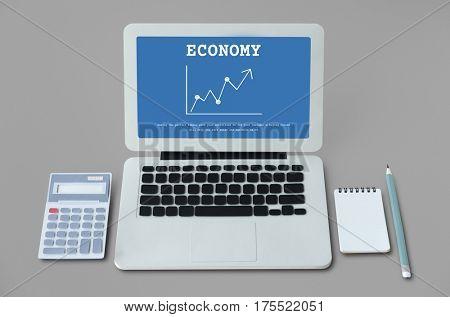 Stock Market Exchange Economics Investment Graph
