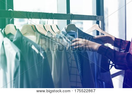Fashion Design Clothing Rack Concept