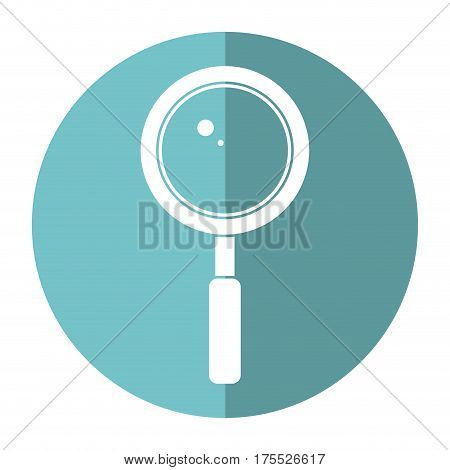 search loupe school shadow vector illustration eps 10