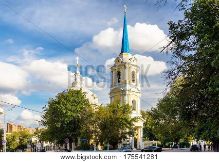 Church of the Ascension of Jesus in Moscow Russia