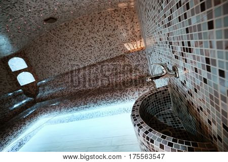 Marble Steam Turkish Bath In Hotel