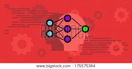 Machine learning . Artificial intelligence , Artificial neural network concept