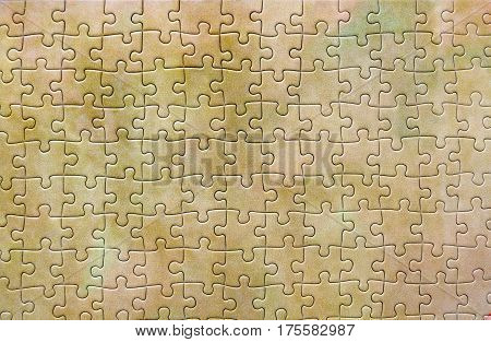 Folded Puzzle Sand Color, Background