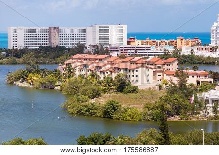 Cancun Clipper Club Resort Aerial View