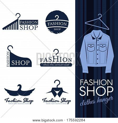 Fashion Shop Logo Vector Photo Free Trial Bigstock