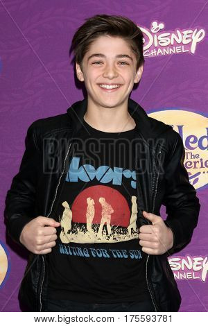LOS ANGELES - MAR 4:  Asher Angel at the