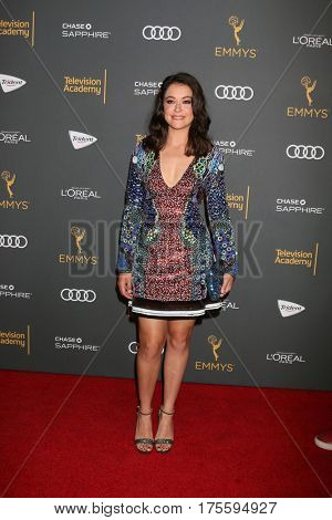 LOS ANGELES - SEP 16:  Tatiana Maslany at the TV Academy Performer Nominee Reception at the Pacific Design Center on September 16, 2016 in West Hollywood, CA