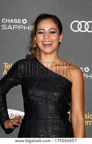 LOS ANGELES - SEP 16:  Angelique Rivera at the TV Academy Performer Nominee Reception at the Pacific Design Center on September 16, 2016 in West Hollywood, CA