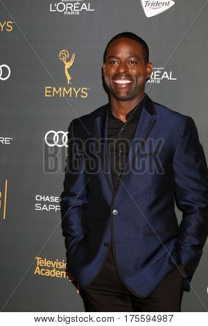 LOS ANGELES - SEP 16:  Sterling K. Brown at the TV Academy Performer Nominee Reception at the Pacific Design Center on September 16, 2016 in West Hollywood, CA