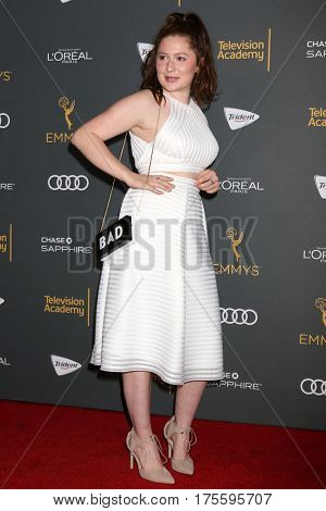 LOS ANGELES - SEP 16:  Emma Kenney at the TV Academy Performer Nominee Reception at the Pacific Design Center on September 16, 2016 in West Hollywood, CA