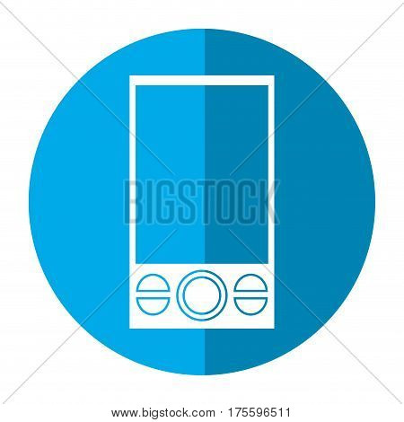 smartphone mobile technology communnication image vector illustration eps 10