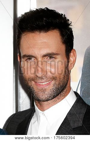 NEW YORK-JUNE 25: Adam Levine attends the 'Begin Again' premiere at SVA Theater on June 25, 2014 in New York City.