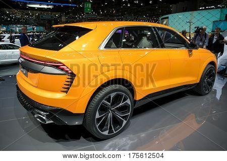 Audi Q8 Sport Concept Car