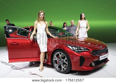 New 2017 Kia Stinger Car