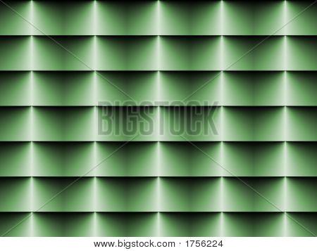 Op Art Horizontal Blinds Pale Green One