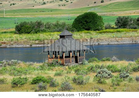Gazebo On Yellowstone