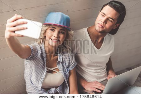 Stylish Young Couple