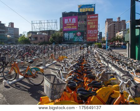 Thousands Of Bikes