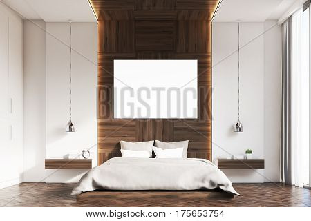 Bedroom With Picture, Wood, Front