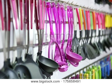 Plastic kitchen utensils