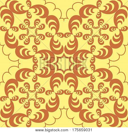 Abstract Brown pattern on a sand background Vector