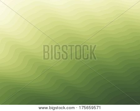 Vector green spring blurry texture background. Abstract bright gradient