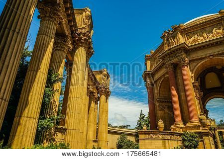 Palace of Fine Arts San Francisco California