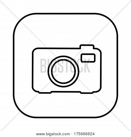 figure symbol camera icon, vector illustraction design