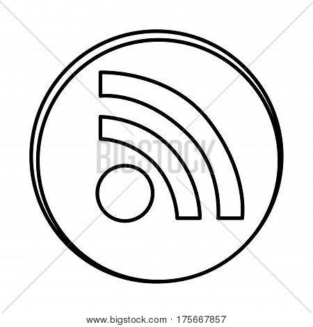 silhouette symbol wife icon, vector illustraction design image