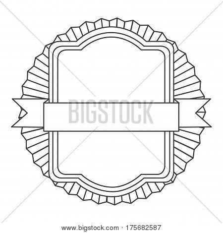 figure square emblem icon, vector illustraction design image