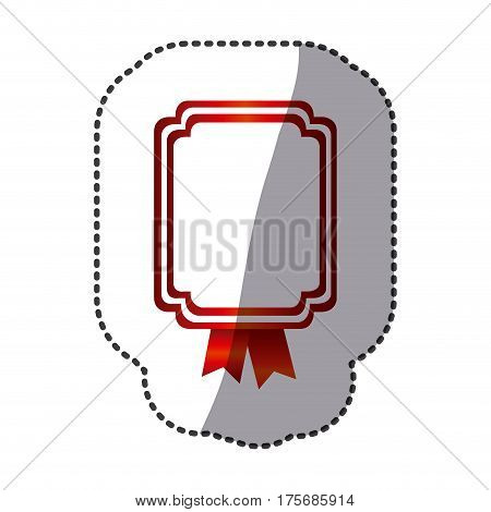 red square emblem icon, vector illustraction design image