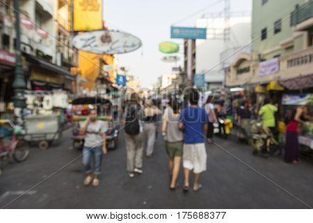 Blur Khao San City