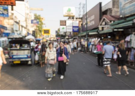 Blur Khao San Market