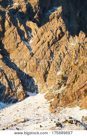 Partacua Mountains in Tena Valley, Aragon, Huesca, Spain.