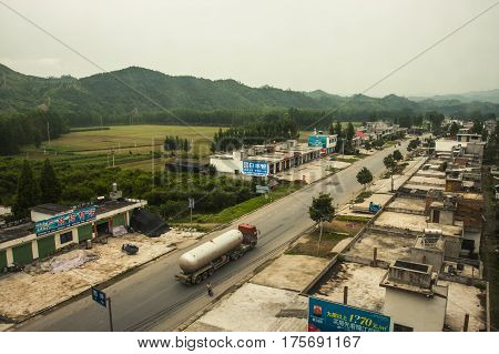 Small Chinese Town