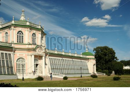 Large Stone Conservatory