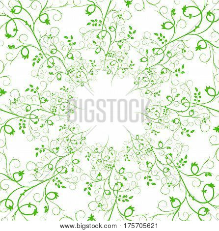 Collection of Artistic Hand Sketched Decorative Doodle Borders and Frames. Floral Design Elements. Hand Drawn Vector Illustration. Pattern Brashes