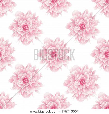 Seamless pattern flower. Background for fabrics textiles paper wallpaper web pages wedding invitations. Vector illustration.