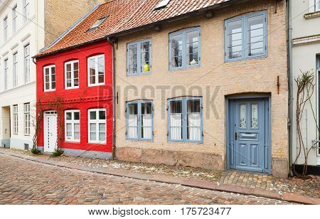 Germany, Traditional Colorful Living Houses